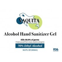 Vaquita, Alcohol Hand Sanitizer Gel